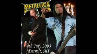 Metallica live Detroit, MI 4/Jul/2003