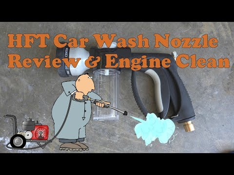 HFT Nozzle Review and Engine Clean with Purple Power