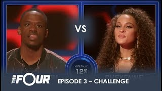Rell vs Cheyenne: Rapper Wants To AVENGE The Loss of Lex Lu Will It Work? | S1E3 | The Four