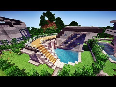 Comment construire une maison de luxe dans minecraft ? La ...