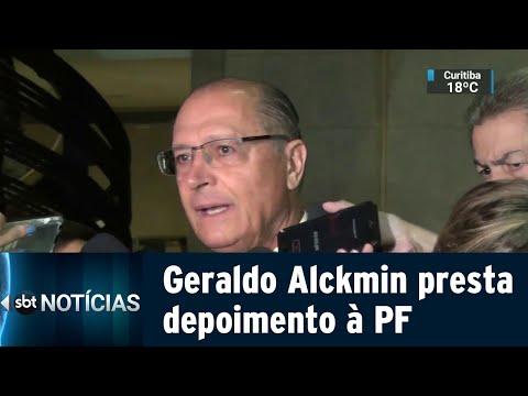 Ex-governador Geraldo Alckmin depõe à PF em inquérito de cartel de obras