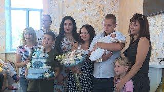 В Волгограде из роддома № 7 выписали тысячного малыша