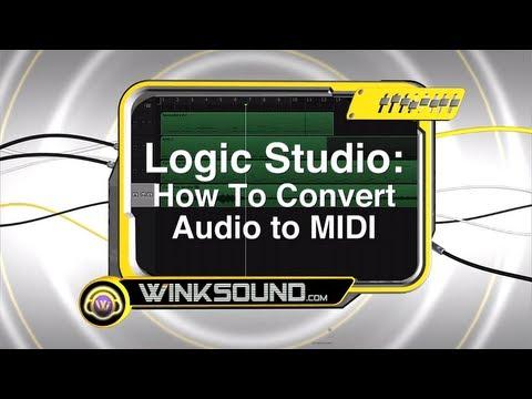 Logic Pro: How To Convert Audio to MIDI | WinkSound