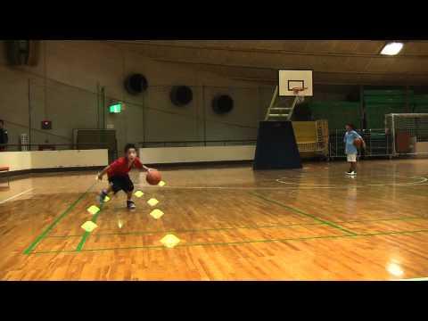 バスケットボール ドリブル練習