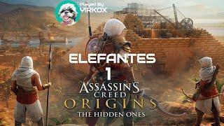 ASSASSIN'S CREED ORIGINS: Los Ocultos   Elefantes 1    Herwenerfer y Jumbe