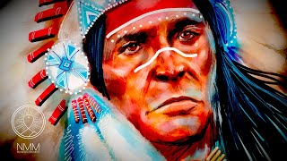 Native Spirit Flute Sleep 🔥 LOWER flute tones 🔥 deep healing sleep music, soothing native music