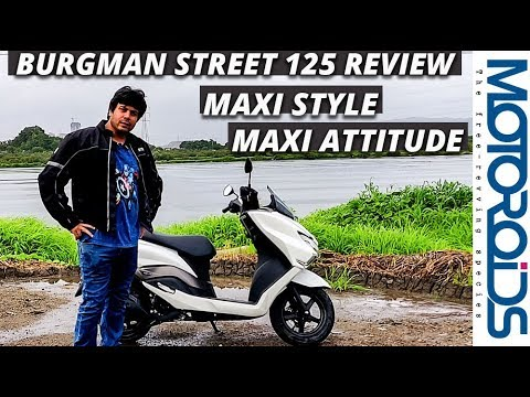 Suzuki Burgman Street 125 India Review