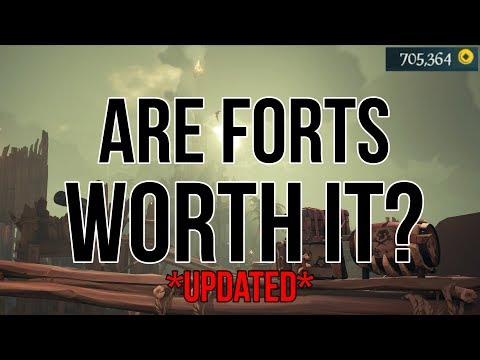 Are Forts Worth it ? | Pirate Legend / Coin Grinding (Sea of Thieves)