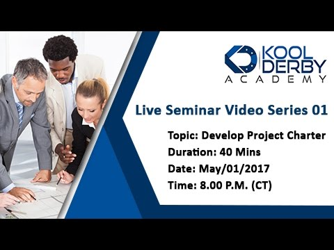 Kool Derby PMP / CAPM Webinar Series 01: How to pass PMP on the first try!