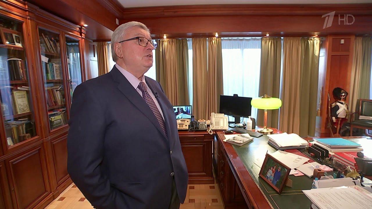 Ректор МГИМО Анатолий Торкунов отмечает 70-летие