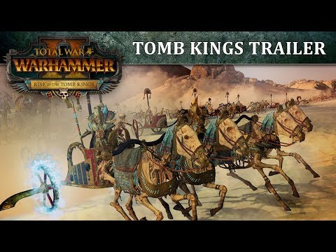 Total War: WARHAMMER 2 - Tomb Kings Trailer thumbnail