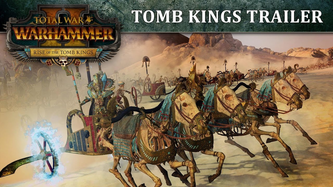 Trailer di Total War: Warhammer II - Rise of the Tomb Kings