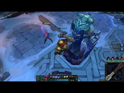 玩家被塔卡住然後被TP到敵人正中間