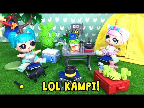 LOL Unicorn ve Glamstonaut Bebeğin Yaz Kampı Hazırlığı!