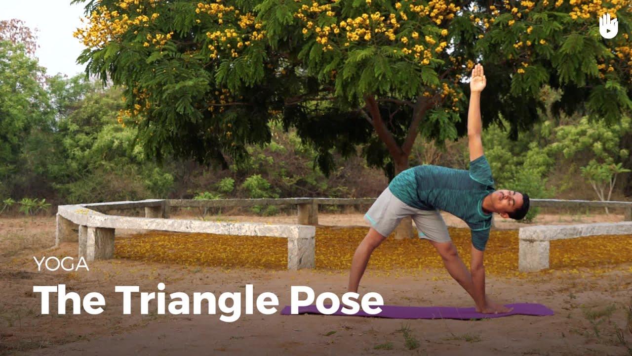 Learn the Triangle Pose - Trikonasana - Learn Yoga | Sikana