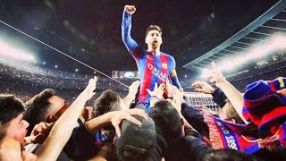 Messi MAD Celebration for Sergi Roberto Goal vs PSG [ Barcelona 6-1 PSG ]   #PASSION