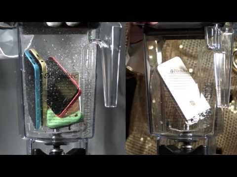 Xay nát iphone bằng máy xay sinh tố. Cảm nhận từ giây thứ 45