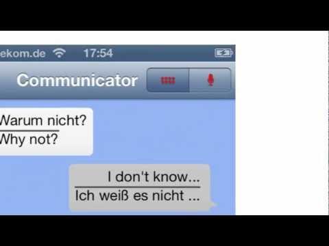Der Simultan-Übersetzer für die Tasche - iSayHello Communicator Pro, die Reise App für das iPhone und Android Handys.