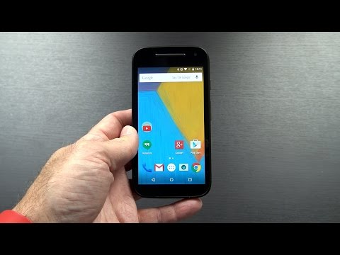 Motorola Moto E XT1527 (2nd Generation with 4G LTE) Unboxing and First Impressions!