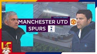 Premeir League  Manchester United Vs Tottenham Hotspur  FIFA 17 Predicts