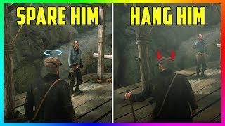 What Happens If You SPARE Or HANG Cleet In The Epilogue Of Red Dead Redemption 2? (SECRET Outcome)