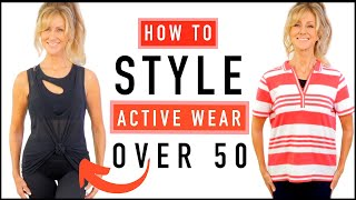 How To To Look 10 Years Younger Over 50 | Active Wear Style Tips!