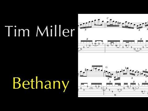 Tim Miller -  Bethany Guitar Solo (Janek Gwizdala)