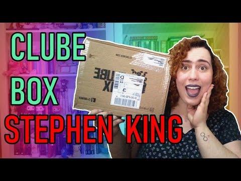 UNBOXING CLUBE BOX STEPHEN KING | Baú Literário