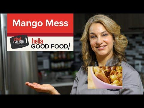 Easy Mango Dessert Mess