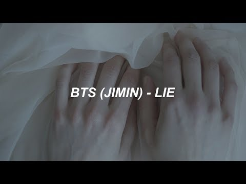 BTS (방탄소년단) JIMIN 'LIE' Easy Lyrics