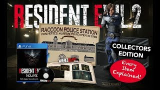 Resident Evil 2 Collectors Edition ALL DETAILS | North America | RE2 Remake