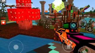 Надрал зад игрокам сервера на изи со своей сборкой в pixel gun