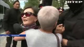 Протести у Казахстані: за грати потрапили десятки людей