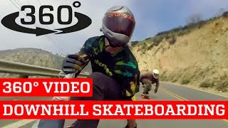 Awesome Downhill Skateboarding VR (360° Video!)