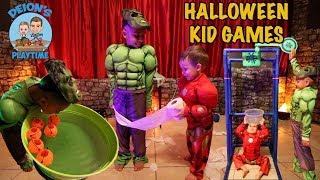 HALLOWEEN GAMES for KIDS with DEION'S PLAYTIME | GELLI BAFF