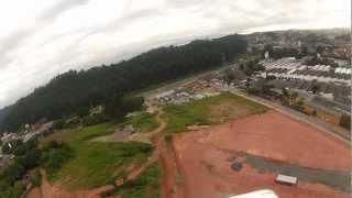 preview picture of video 'Taboao da Serra - Filmagem HD - GoPro - 22/03/2013'