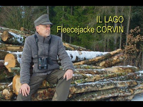 IL LAGO - Fleecejacke Corvin - für die Jagd und alle Outdoor Abenteuer - Review