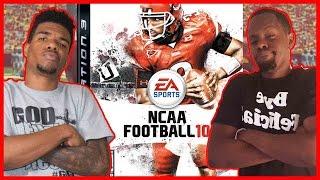 HIGH LEVEL WIGGLE STICKS!! - NCAA Football 2010   #ThrowbackThursday ft. Juice