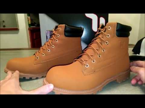 FILA WATERSEDGE BOOTS WATERPROOF WORK AND CASUAL SHOES UNBOXING AND REVIEW