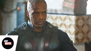 Ask Marvel: J. August Richards, Deathlok — Agents of S.H.I.E.L.D.
