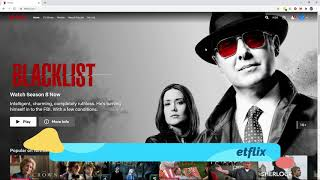 Watch The Blacklist season 8 on Netflix!