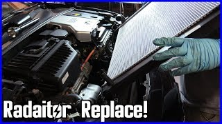 Radiator Replacement Lexus RX 400h 2005–2009