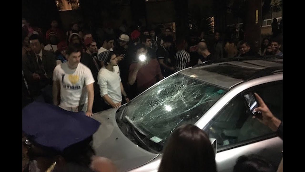 Thousands Of Berkeley Students Riot, Why? thumbnail