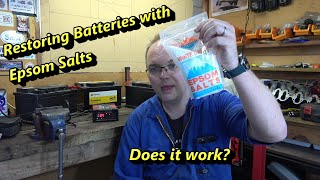 Restoring Car Batteries with Epsom Salts - Does it Work?