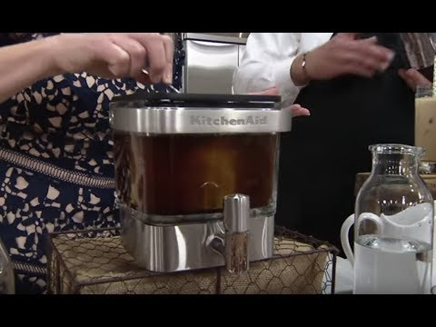KitchenAid 28 Ounce Cold Brew Coffee Maker on QVC