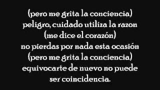 La Conciencia   Gilberto Santa Rosa (letra)