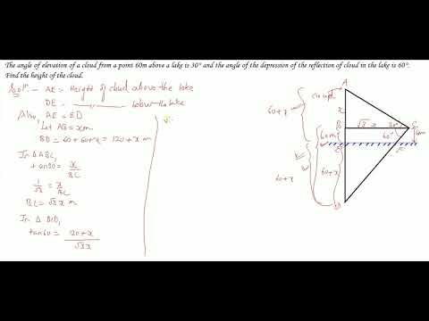 Trigonometry Part 54 (2) Class 10