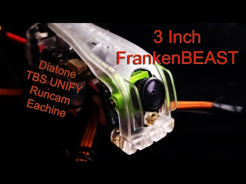 Diatone Eachine ER349 - Amazing 3 inch Quadcopter