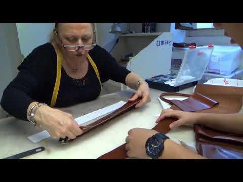 アカデミアリアチ_バッグ制作風景 Accademia Riaci Bag Making