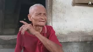 Thương cụ ông gần 90 tuổi đan trẹt mót hơn 1 USD mỗi ngày nuôi cả gia đình